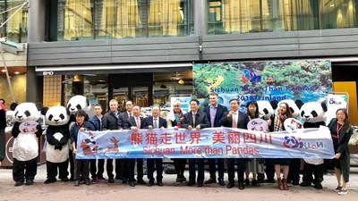 """2018 """"Beautiful Sichuan, More than Pandas"""" Tourism Promotion Campaign Arrived in Finland"""