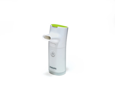 InnoSpire Go is Philips' smallest and lightest portable hand-held nebulizer designed to deliver medication in just four minutes.
