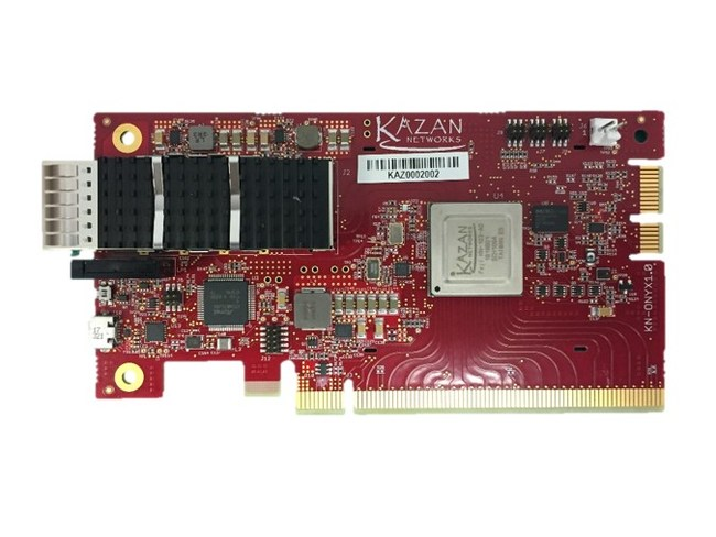 Smallest, lowest power NVMe-oF solution available
