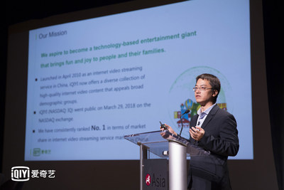 iQIYI CTO Liu Wenfeng Gives Keynote Speech at China-US Culture Investment Forum in New York