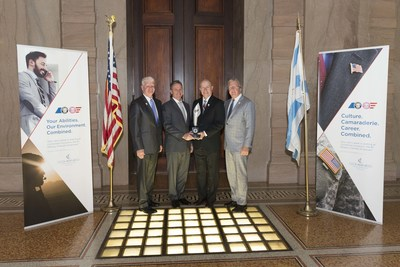 Kevin Goulding, President of Combined Insurance, Mike Stevens, CEO of VIQTORY, Bob Wiedower, VP of Sales Development and Military Programs at Combined Insurance, and Doug Abercrombie, SVP and Chief Agency Officer at Combined Insurance