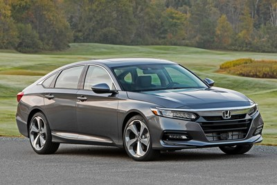 The 2019 Honda Accord lineup begins arriving at dealer showrooms across the country on Thursday, Nov. 1.