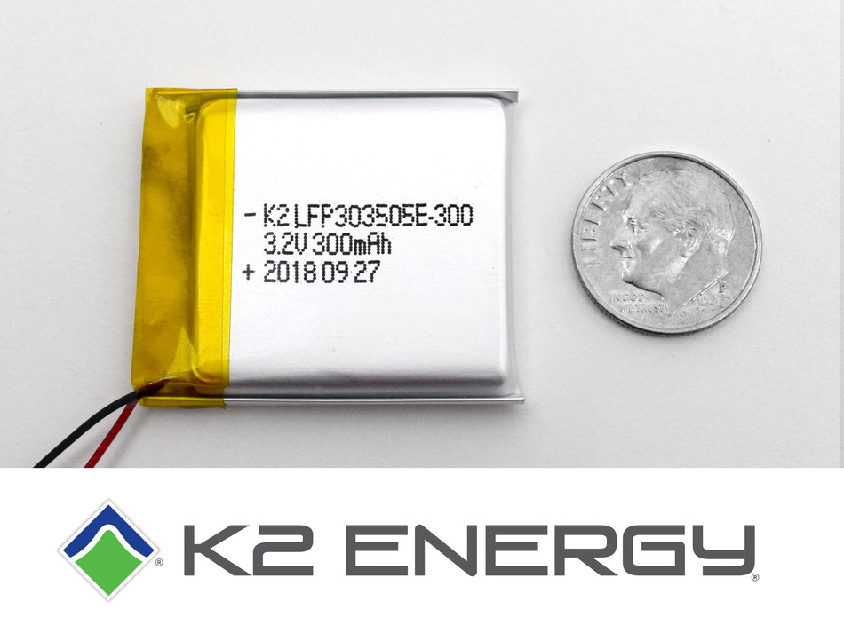 K2 Energy Solutions New Prismatic Cells.