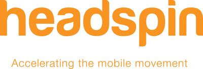 HeadSpin logo (PRNewsfoto/HeadSpin)