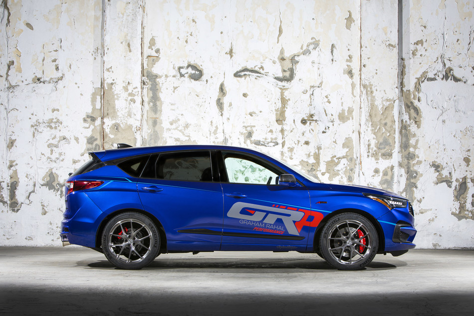 SEMA: Graham Rahal Injects Style, Power and Performance to Custom Acura RDX A-Spec
