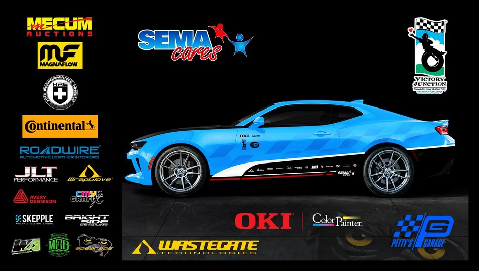 OKI Data Unveils the SEMA Cares Customized Car Build at SEMA 2018