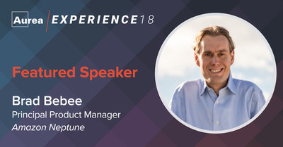 AWS's Brad Bebee joins the Aurea Experience 18 mainstage lineup to share the power of graph databases in reinventing employee and customer experiences.