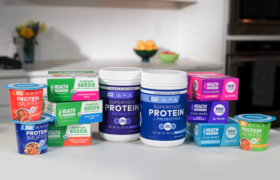PepsiCo today announced it has acquired Health Warrior, Inc., a U.S.-based nutrition-forward company that makes plant-based products including nutrition bars and on-trend offerings.