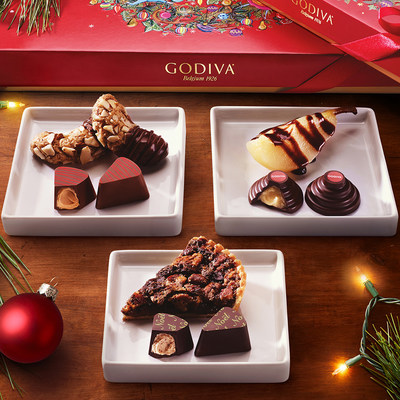 GODIVA Holiday Desserts Collection