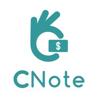Logo for CNote, an award-winning financial platform that allows anyone to earn a competitive return on their cash while investing in causes and communities that they care about.
