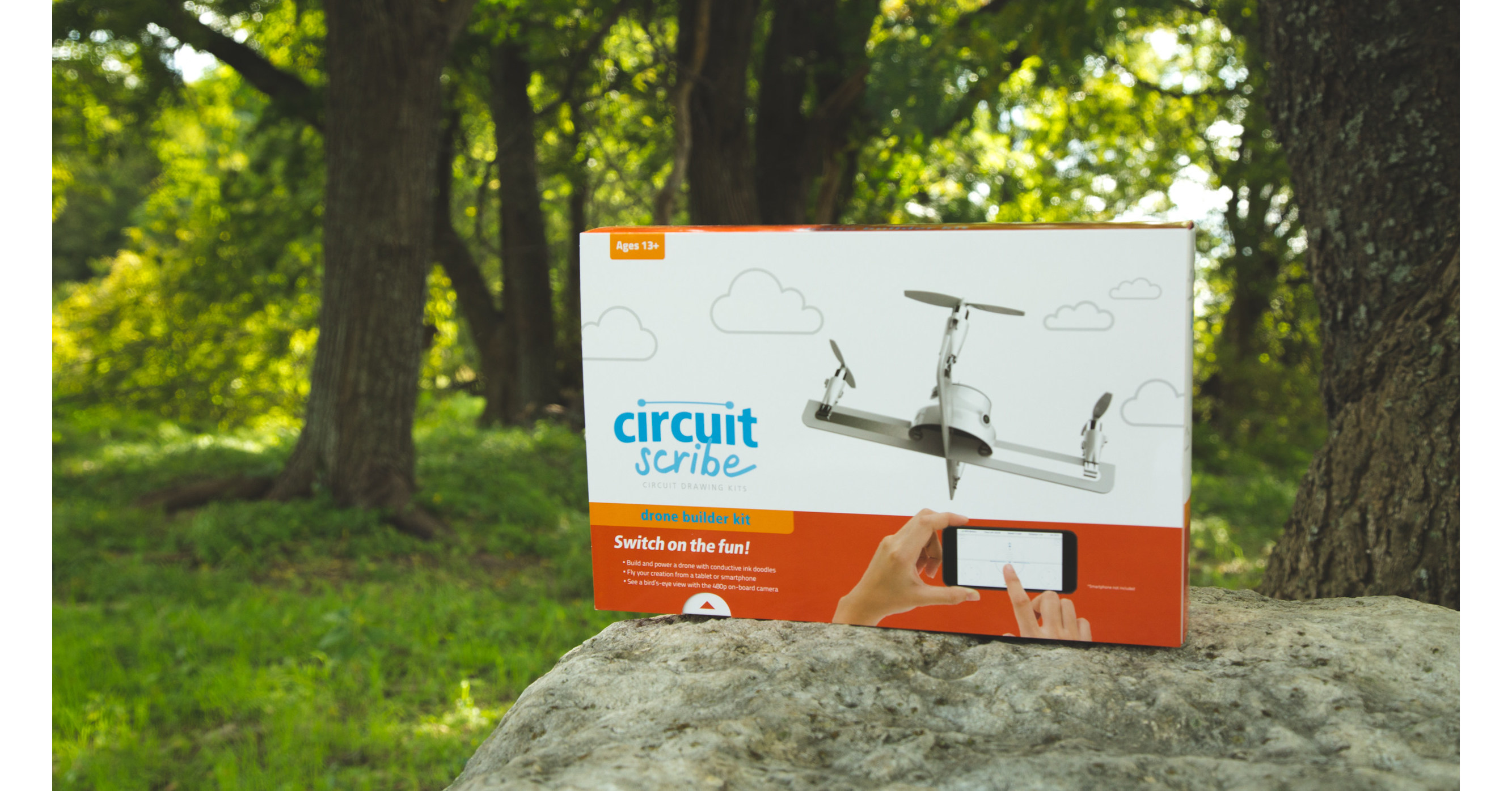 Circuit Scribe Drone Builder Kit-Build /& Fly Your Own Drone with On-Board Camera