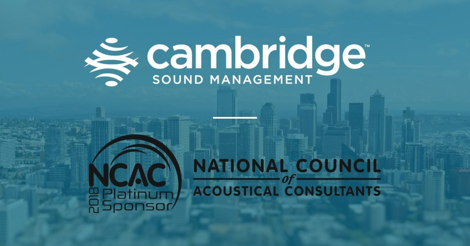 Cambridge Sound Management Announces Sponsorship of NCAC