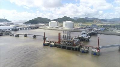 新奧舟山LNG接收站