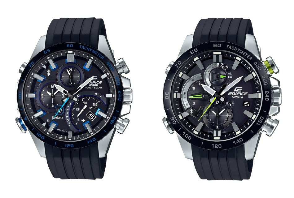 Casio's EDIFICE Connected Timepieces Automatically Adjust for Daylight Saving Time.
