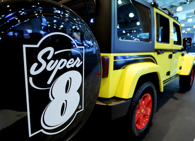 Super 8 worked with industry-leading fabricators —several with ties to some of Hollywood's most iconic vehicles— to customize ROADM8 from the base of a 2017 Jeep Wrangler Unlimited Sport 4x4.
