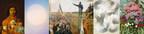 Marie-Claire Blais, Brûler les yeux fermés, S_11, 2012. Peinture acrylique en aérosol sur toile, 152 X 114,5 cm. Achat pour la Collection de prêt d'œuvres d'art du MNBAQ. (CP.2013.67) Photo : MNBAQ Denis Legendre /// Charles Alexander, L'Assemblée des six comtés à Saint-Charles-sur-Richelieu, en 1837. Huile sur toile, 300,8 X 691,3 cm. Coll. MNBAQ, acquisition vers 1930 et transfert de l'Hôtel du parlement en 1937. Restauration effectuée par le Centre de conservation  du Québec grâce à une contribution des amis du Musée national des beaux-arts du Québec (1937.54). Photo : MNBAQ, Jean-Guy Kérouac /// Zacharie Vincent, Zacharie Vincent et son fils Cyprien, 1852-1853. Huile sur toile 48,5 × 41,2 cm. Coll. MNBAQ, achat (1947.156). Photo : MNBAQ, Patrick Altman /// François Lacasse, Grandes pulsions VII, 2008. Acrylique et encre sur toile, 190,5 X 152,7 cm. Coll. MNBAQ, don de l'artiste (2017.279)© François Lacasse. Photo : MNBAQ Idra Labrie /// Ludger Larose, La serre, 1910. Huile sur toile, 125 X 87 cm. Coll. MNBAQ, don de Marcel Larose. Restauration effectuée par le Centre de conservation du Québec (1963.78) Photo : MNBAQ, Idra Labrie. (CNW Group/Musée national des beaux-arts du Québec)