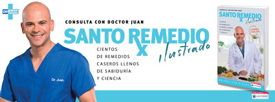 Sacred Remedy, one of the best-selling Spanish-language books in the United States, n Photo