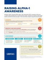 Grifols affirms commitment to patients during Alpha-1 Awareness