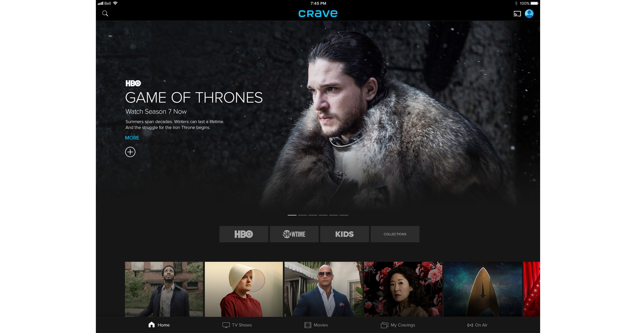 Bell Media's The Movie Network, HBO Canada and CraveTV Come
