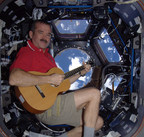 Dinner with astronaut Chris Hadfield is just one of many experiential packages up for bid in the Ontario Science Centre's RBC Innovators' Ball eAuction, which supports the Centre's community access programs. Photo credit: NASA (CNW Group/Ontario Science Centre)