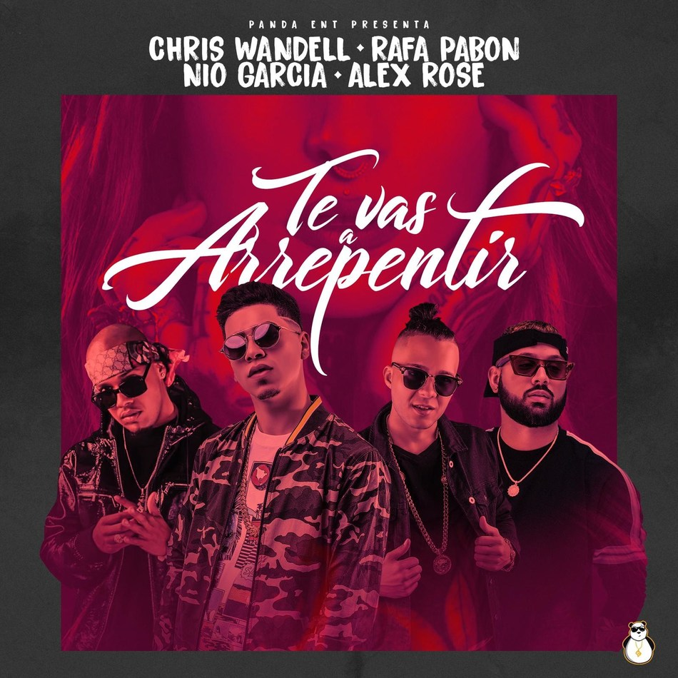 "World premiere of music video ""Te Vas Arrepentir"" by Chris Wandell in collaboration with Rafa Pabon, Nio Garcia and Alex Rose exclusively on LaMusica App on November 1st, 2018"
