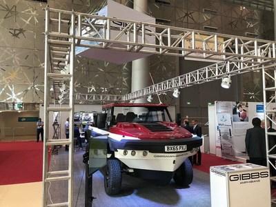 Gibbs Amphibians携Humdinga亮相在多哈举行的2018年卡塔尔军警展