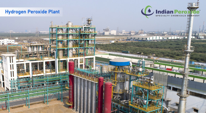 Indian Peroxide Limited (IPL) Hydrogen Peroxide Plant (PRNewsfoto/Indian Peroxide Limited)