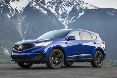 The Acura RDX set a new October sales mark, jumping 75 percent as it fueled record Acura October truck sales. Overall, the Acura brand gained 7.3 percent for the month versus October of last year.