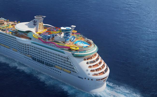 Royal Caribbean International is amping things up on 3- to 4-night Caribbean cruises with new, record-breaking experiences coming to a reimagined Navigator of the Seas. With a $115 million modernization, Navigator will offer a lineup of firsts and Royal Caribbean favorites, including an awe-inspiring Caribbean poolscape, two daring waterslides, the first blow dry bar at sea, Insta-worthy nightlife and dining, and thrilling activities for the whole family.