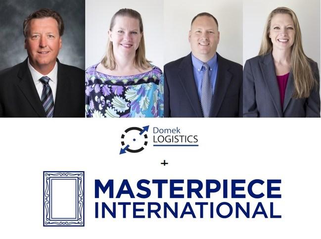 The Domek Logistics Co-Founding Partners Dave Domek, Jennifer Parker, John Wember, and Tina Zabielski
