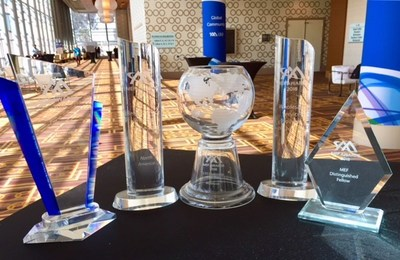 CenturyLink won five awards for service and network excellence at the MEF18 global networking event.