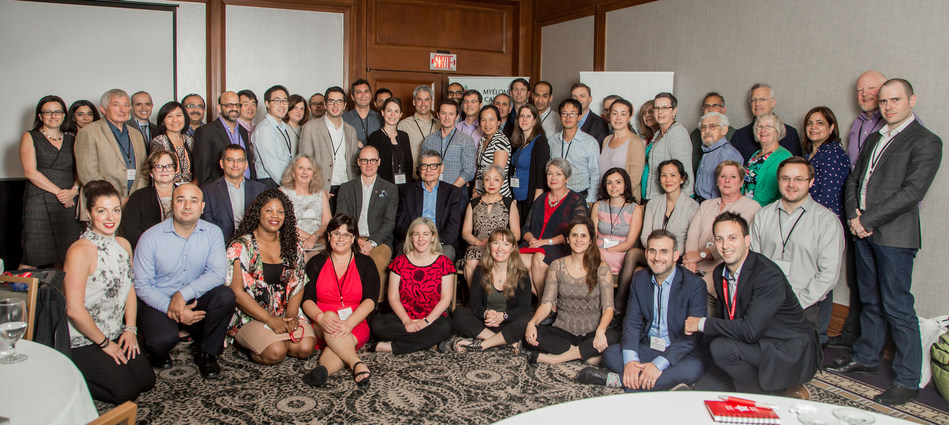 Myeloma Canada Scientific Roundtable held annually in Montreal brings together leading myeloma researchers, doctors, patients and industry partners. (CNW Group/Myeloma Canada)