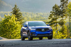 The all-new RDX helped the Acura brand gain a 7% increase in sales over the same period last year. (CNW Group/Honda Canada Inc.)