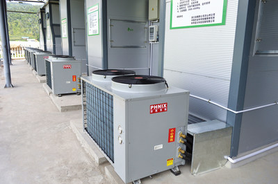 The applications of PHNIX heat pump dryer in China.