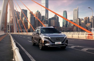 GAC Motor's GS5 SUV, designed for young urban consumers