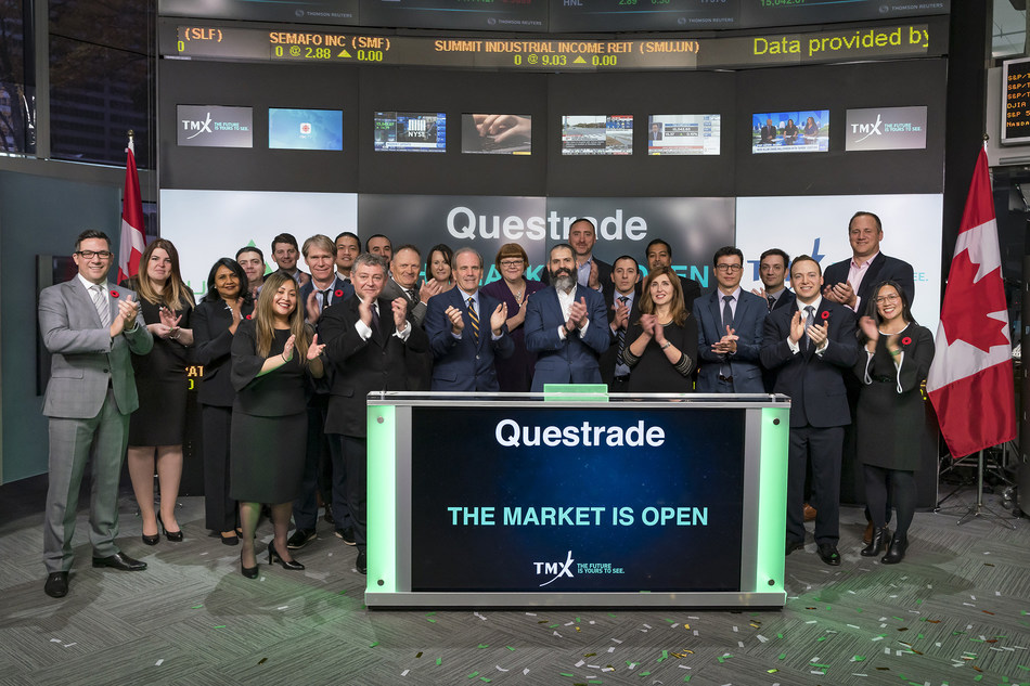 Questrade, Inc. Opens the Market (CNW Group/TMX Group Limited)