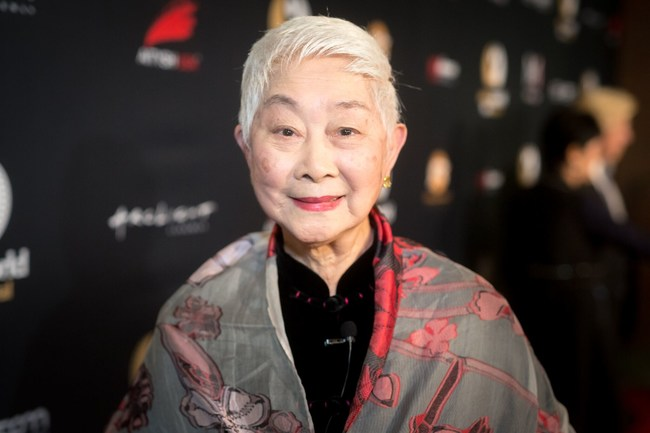 """Legendary Actress Lisa Lu Honored with the """"Lifetime Achievement Award"""" at the 4th Annual Asian Film Festival"""