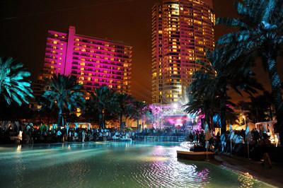 Víspera de Año Nuevo en el Fontainebleau Miami Beach (PRNewsfoto/Fontainebleau Miami Beach)