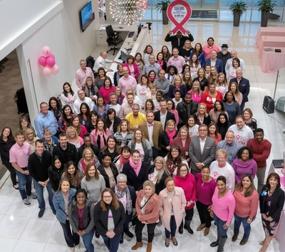 Galderma partnered with the National Breast Cancer Foundation, Inc. (NBCF) to recognize Breast Cancer Awareness Month. Pink Day at Galderma was October 16th and included a $50,000 donation to the foundation.