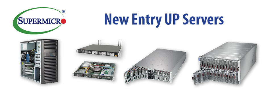 Supermicro Extends Industry-Leading Portfolio of UP Servers