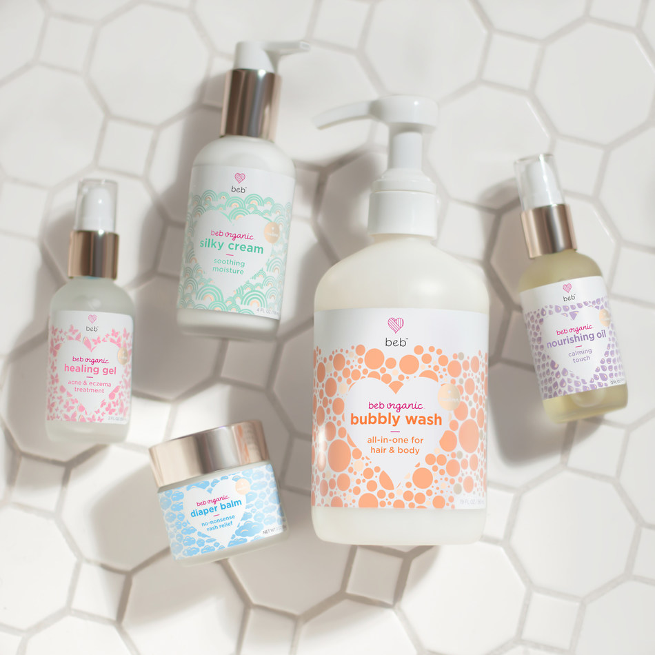 Innovative Preemie Skincare Line, BEB Organic, Launches First Collection and E-Commerce