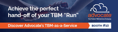 Visit Advocate's booth #10 at the Technology Business Management Conference 2018 in Las Vegas November 5-8 at the Bellagio Resort. You'll learn how Advocate™s Technology Business Management-as-a-Service (TBMaaS) solution is proving essential to IT leaders that are looking for help to win the TBM relay race.