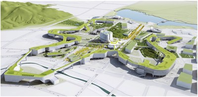 Winner of the international competition for the master plan of New Government Complex Sejong at Administrative City