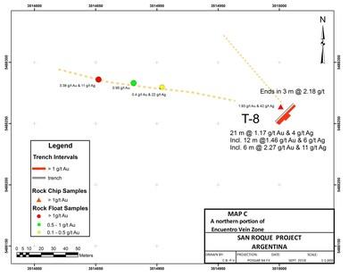 Map C (PRNewsfoto/Marifil Mines)