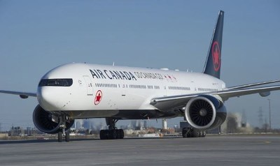 Air Canada flew Canada's athletes to the 2018 Pyeongchang Winter Games. (CNW Group/Air Canada)