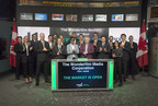 The Wonderfilm Media Corporation Opens the Market (CNW Group/TMX Group Limited)