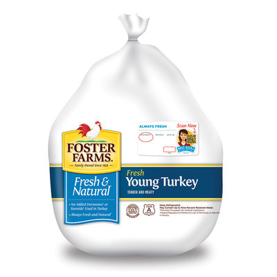 Foster Farms has expanded DORI™, its in-store mobile resource, to provide recipes, tips and hacks to make it your best Thanksgiving ever. DORI is accessible through a QR code on packages of Foster Farms fresh turkeys.