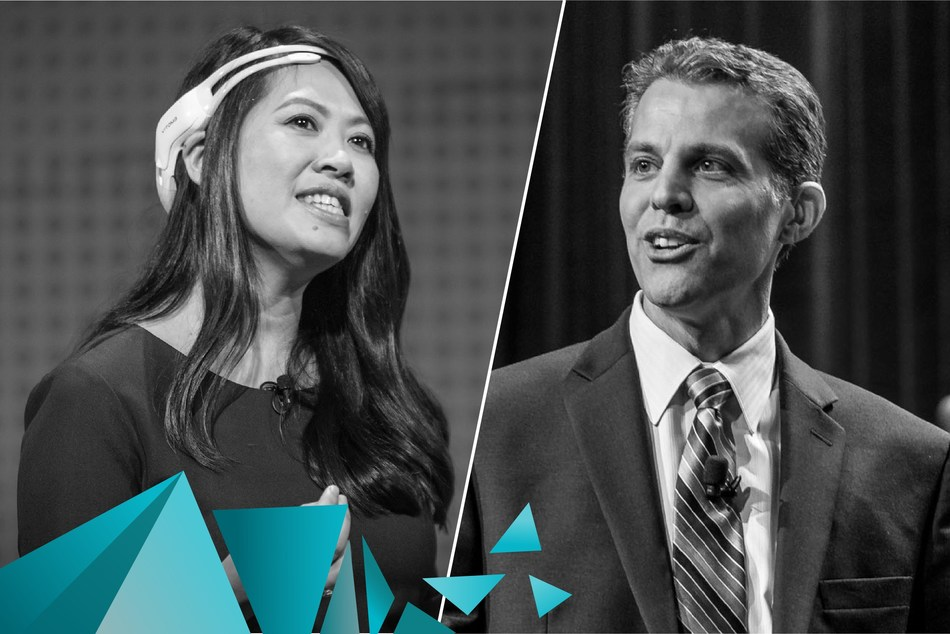 Tan Le and Eric O'Neill are the first two keynote speakers announced for the fourth #BCTECHSummit. (CNW Group/Innovate BC)