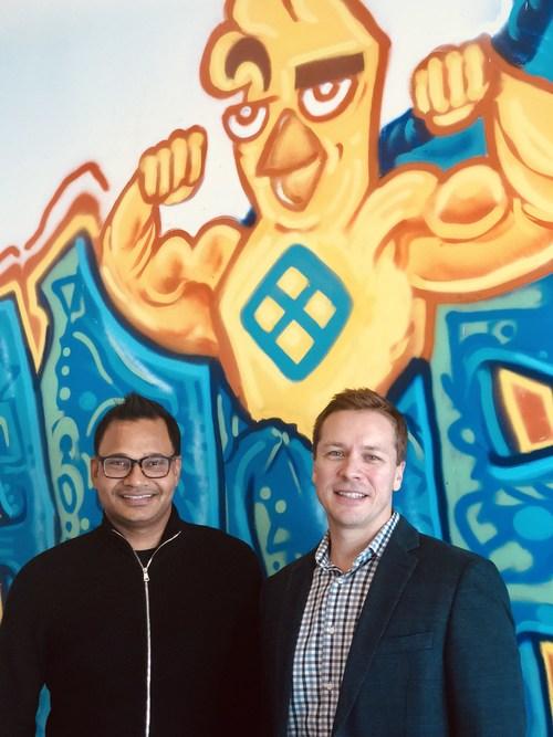 Left: Harness co-founder & CEO Jyoti Bansal. Right: Harness CRO Jason Eubanks.