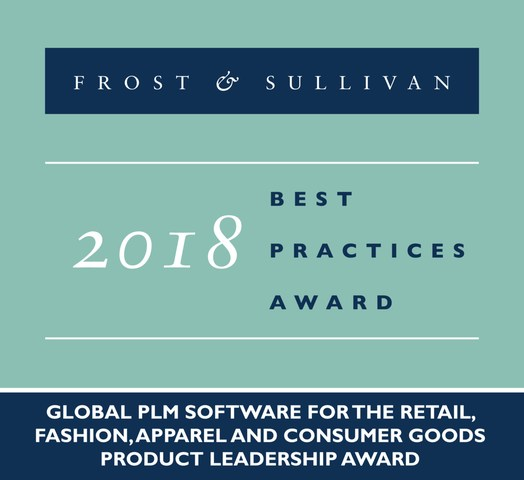 2018 Global PLM Software for the Retail, Fashion, Apparel and Consumer Goods Product Leadership Award